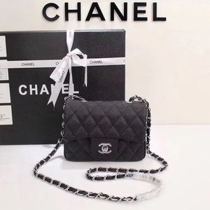 Chanel black bag